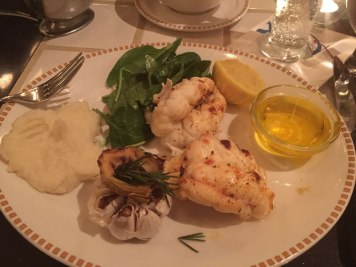 Lobster Tails at Seafire Grill