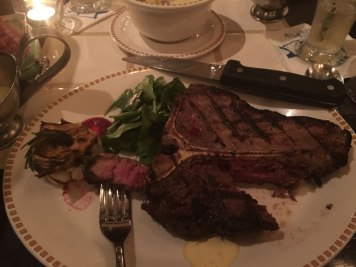 Steak at Seafire Grill